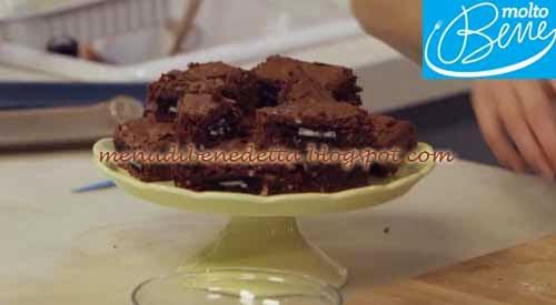 Brownies a Sorpresa ricetta Parodi per Molto Bene su Real Time