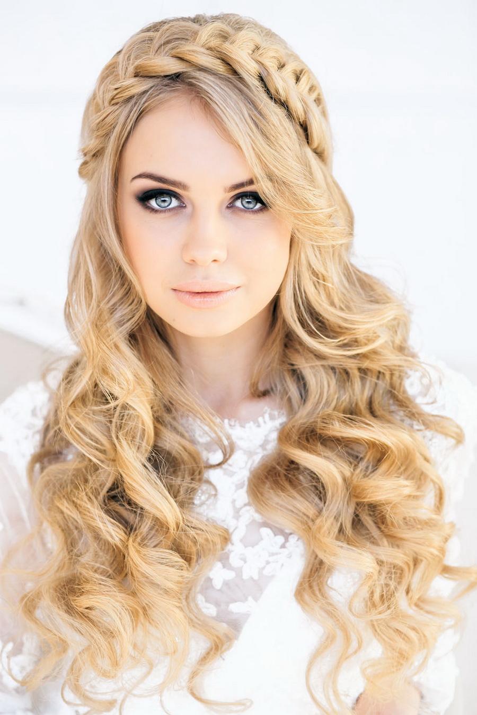 Top Braided Hairstyles Wedding Crown Hair Accessory