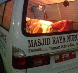 Penemuan Mayat di Rumah Pribadi Walikota Pekanbaru