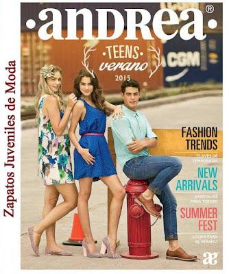 Catalogo Andrea Teens Verano 2015
