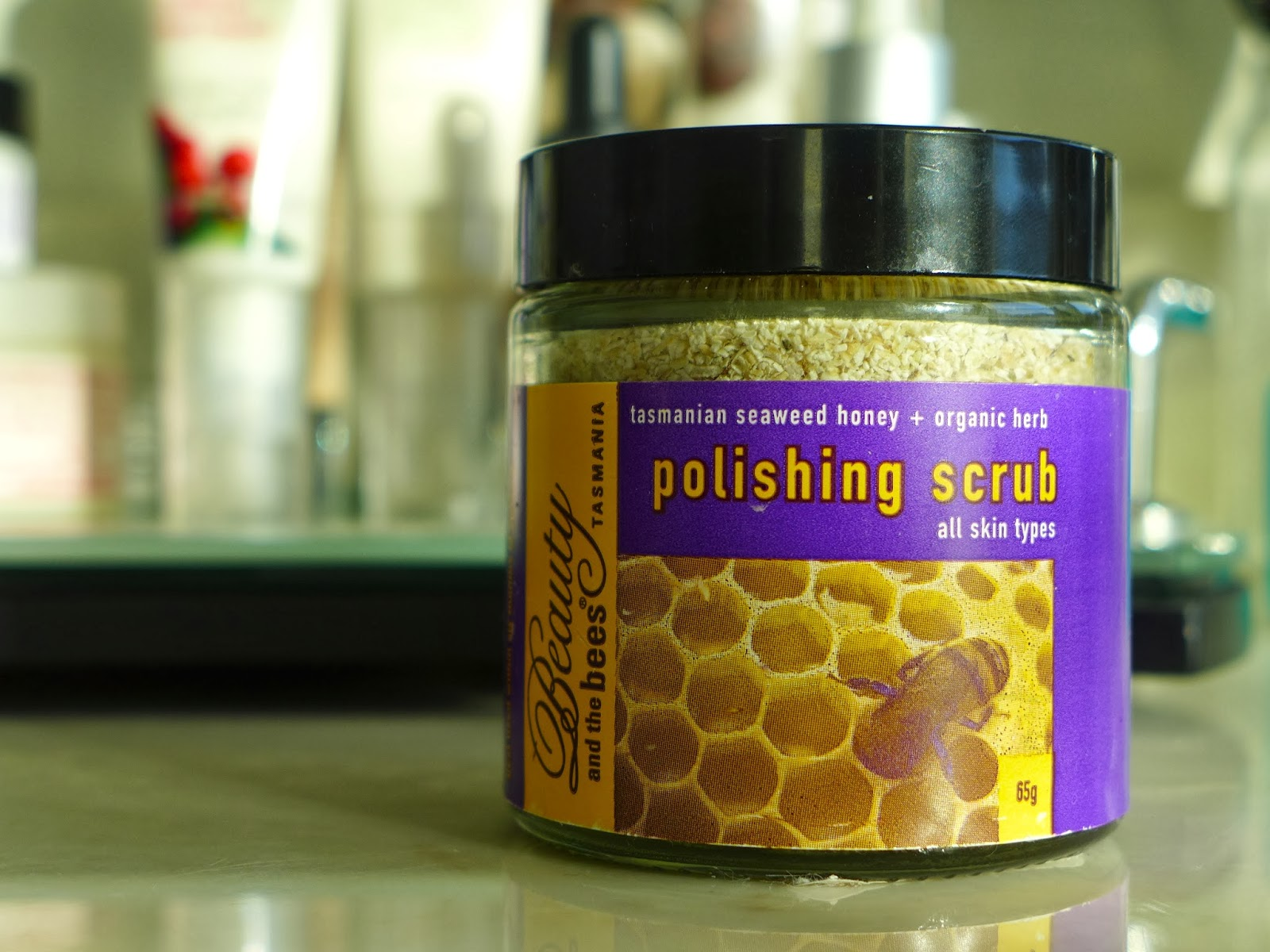 Beauty and the Bees Honey and Herb Polishing Scrub