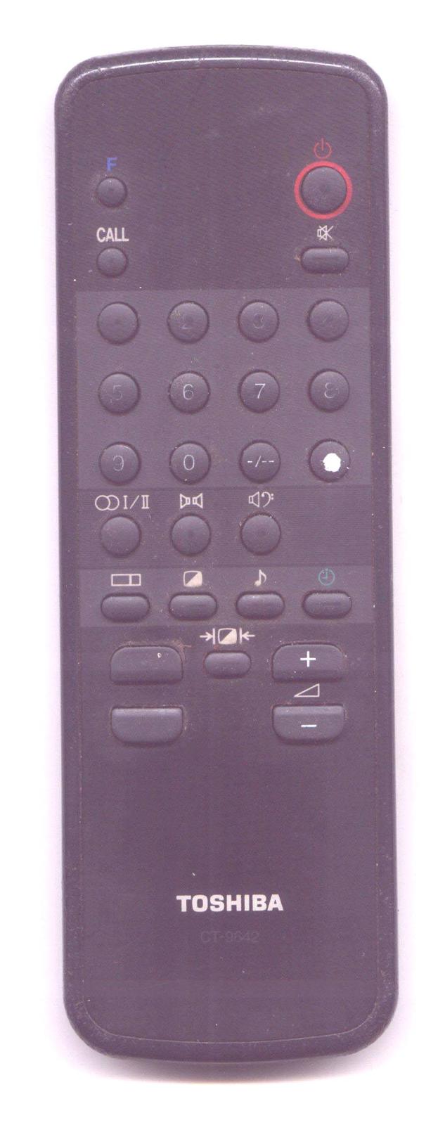 Control remoto TV TOSHIBA 2529TL CHASIS PB3941