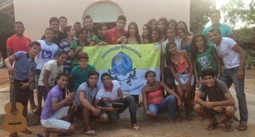 JM do povoado São Raimunho (TO) recebe 1º Intercâmbio Missionário