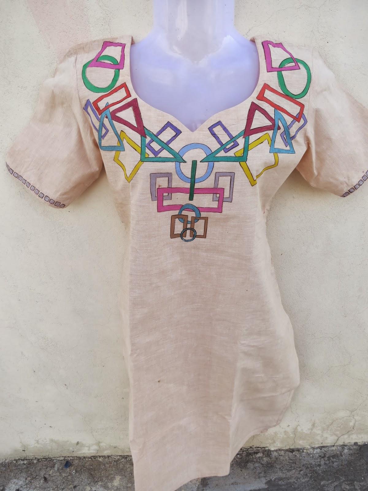 Kurtis: Hand painted kurtis for sale for fabric painting designs on white kurtis  1lp1fsj