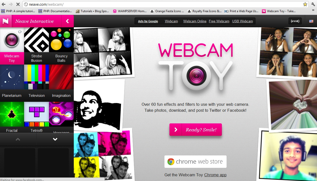 Webcam Toy, Amazing online camera ^^