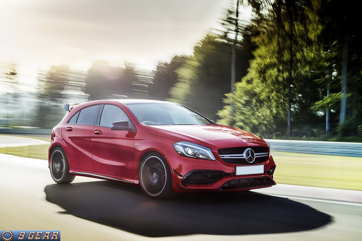 Mercedes a45 amg 4matic amg dynamic plus package car for Mercedes benz packages