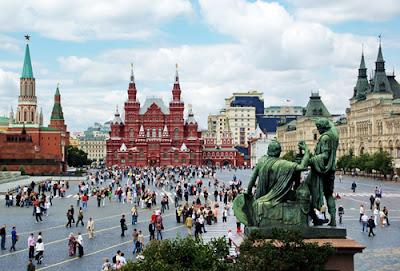 Moscú plaza roja, turismo en la ciudad