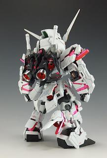 SD RX-0 Unicorn Gundam Destroy Mode Type 2