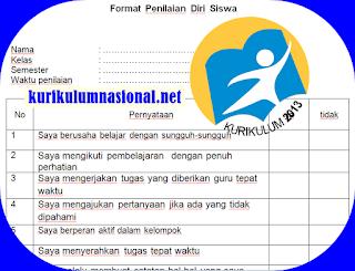 Penilaian Antar Teman Dan Diri Siswa Kurikulum 2013 Baru
