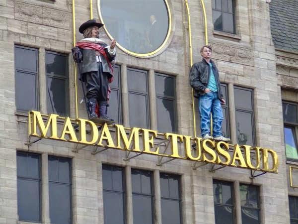 El museo de cera Madame Tussauds en Amsterdam