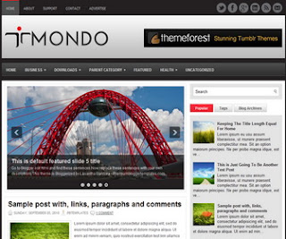 Mondo Blogger Template