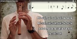 """Hallelujah"" para flauta dulce."