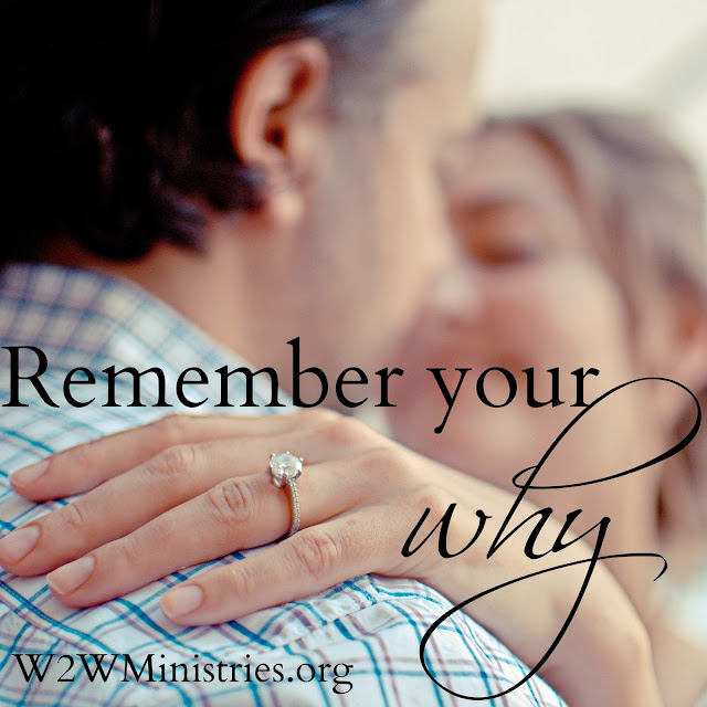 Remember your why. #marriage