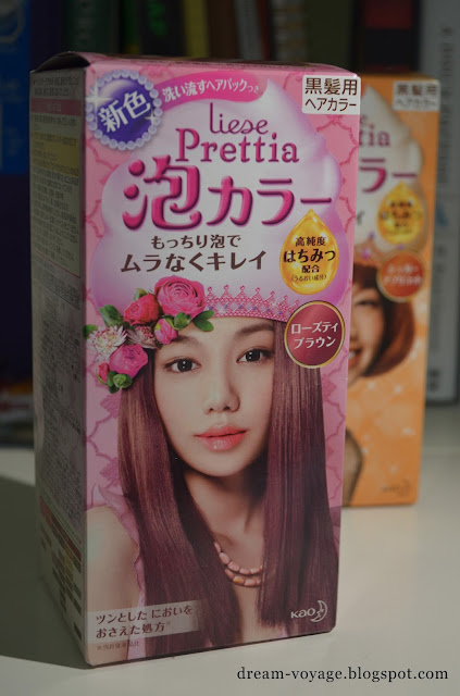 Dream Voyage Liese Prettia Foaming Hair Dye Rose Tea
