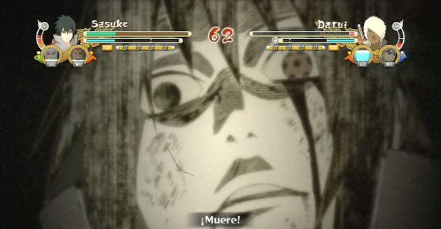 Sasuke using genjutsu