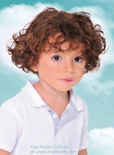 HAIR INK.: BOYS LONG CURLY HAIR