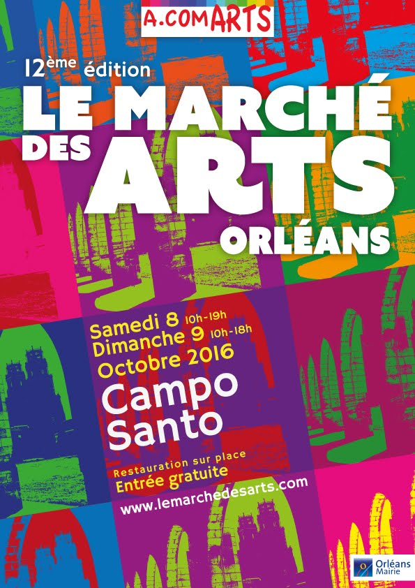 ORLÉANS : CAPTON AU 12ÈME MARCHÉ DES ARTS