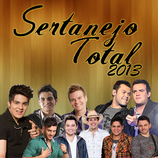 CAPA CD Sertanejo Total 2013