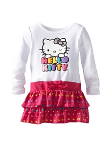 MyHabit: Up to 60% off Hello Kitty Girls: Long Sleeve Dress