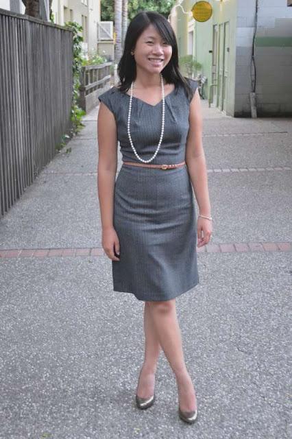 sacramento office fashion blogger angeline evans the new professional mossimo dress target kate spade pumps jcrew belt