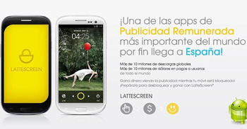 LatteScreen gana dinero desde tu Smartphone