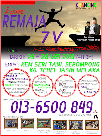 Kem Remaja 7v (25-28 Mei 2013)