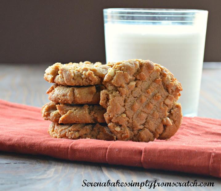 Flourless Peanut Butter Cookies - Serena Bakes Simply From ...