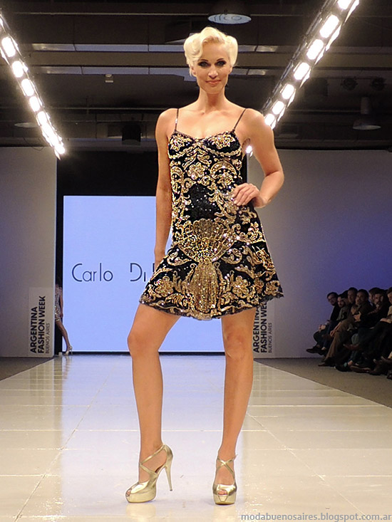 Moda Arentina Vestidos de fiesta 2015 Carlo Di Doménico primavera verano 2015.