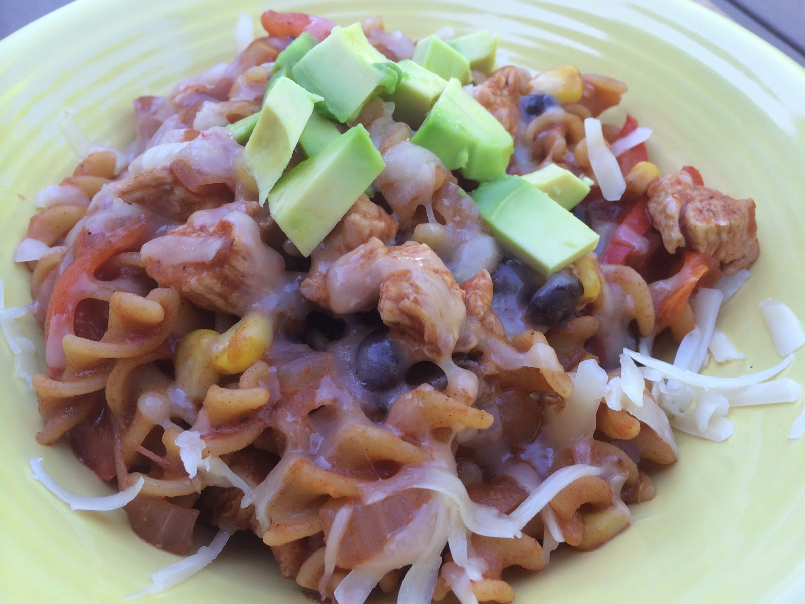 One Pot Pasta: Chicken Taco Rotini