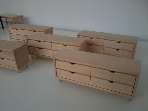 Madera en miniatura wooden miniatures septiembre 2012 - Comodas diseno ...