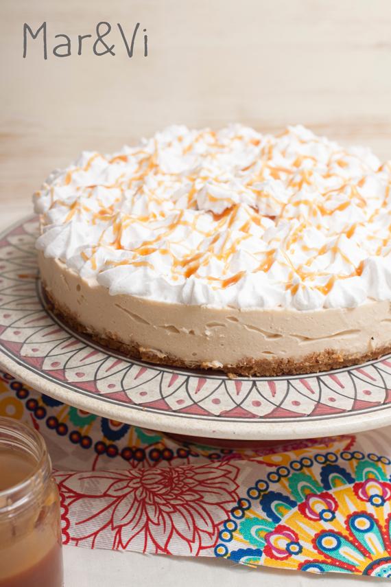Ricetta di cheesecake al caramello salato