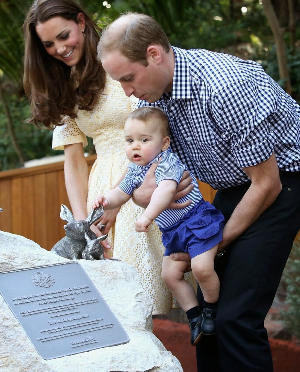 Kate And William Take Baby George To The Taronga Zoo In Sydney
