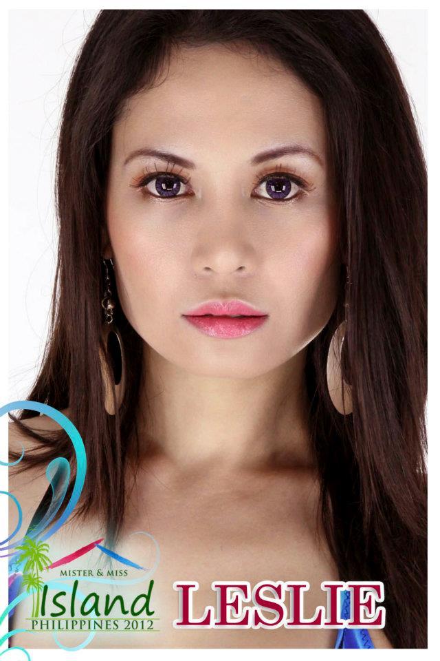Miss Island Philippines 2012 Leslie Ann Ramos