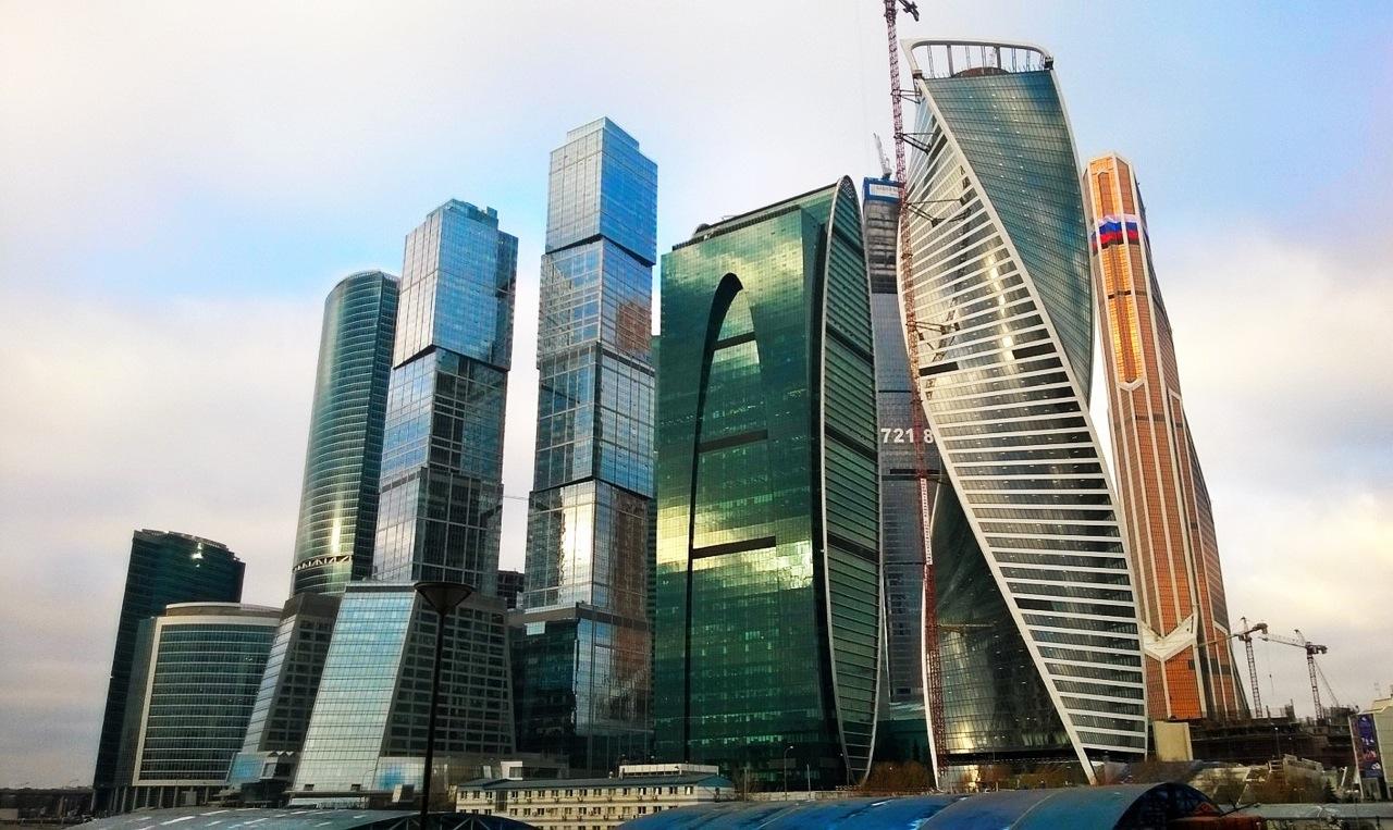 На крыше Москвы (Москва-Cити, пешеходная)