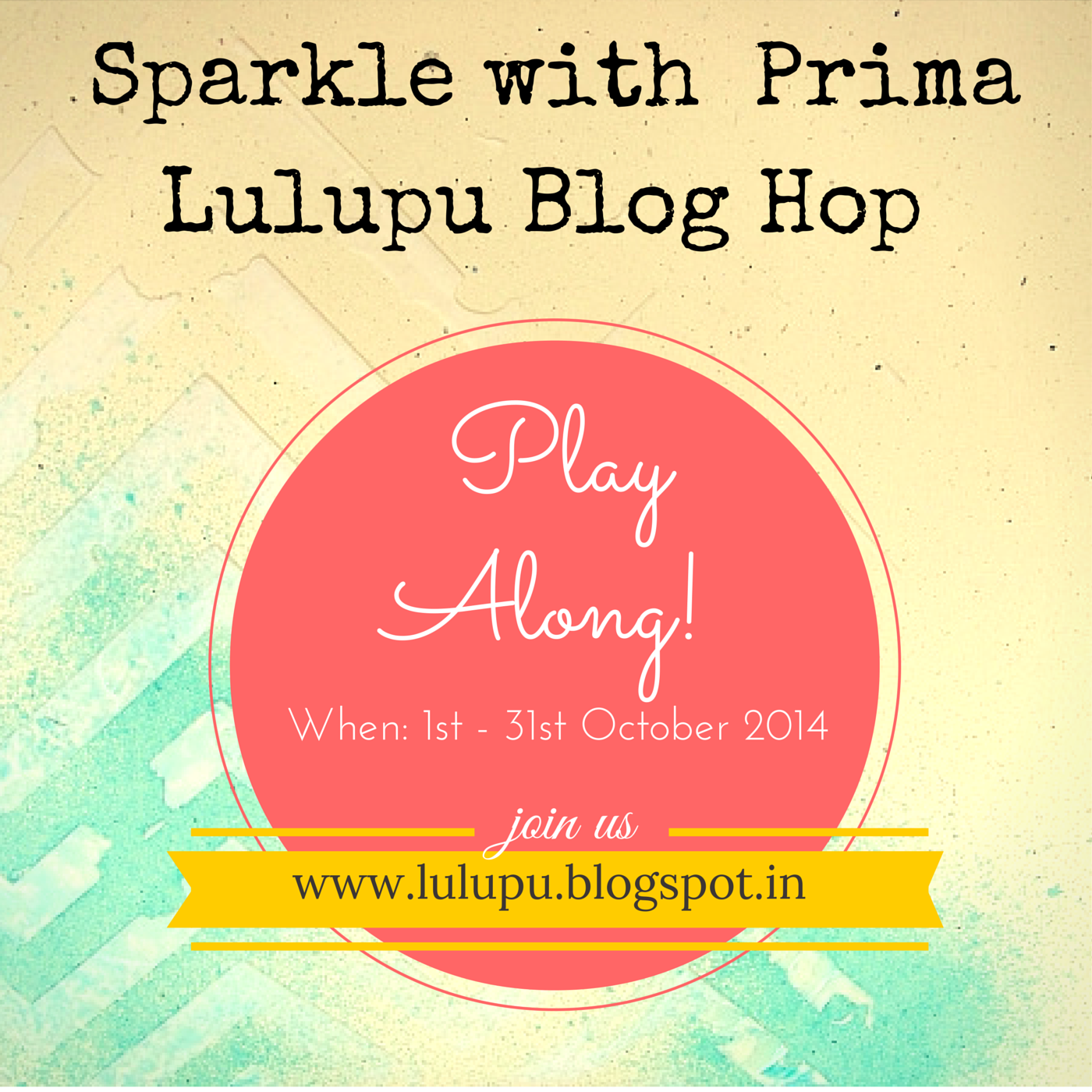Lulupu Sparkle with Prima Blog Hop