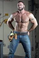 Hot Handsome Male Models - Hunks in Jeans