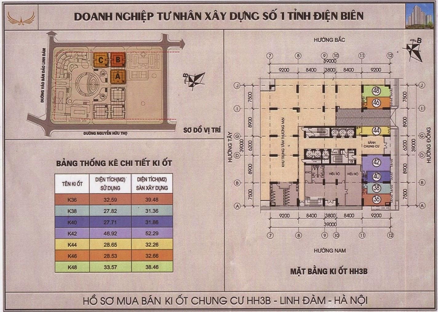 mat bang kiot hh3b