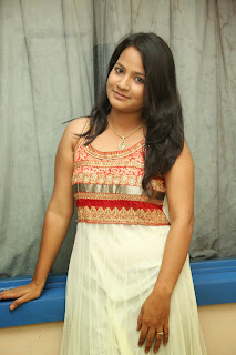 Mehanthini in Beautiful Sleeveless Salar Suit Beautiful Babe