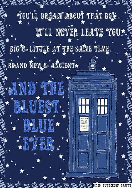 Tardis Love by Bingo Buttercup