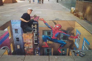 3d Graffiti Art
