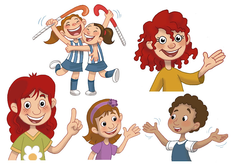 personajes para viñetas
