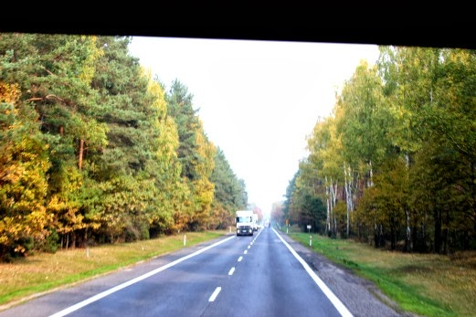 on the road poland