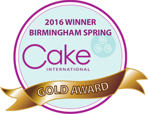 Gold Award for Mucha Cake