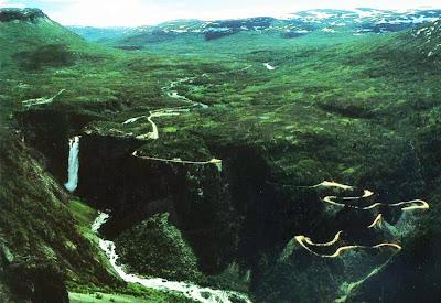Mabodalen road – Noruega