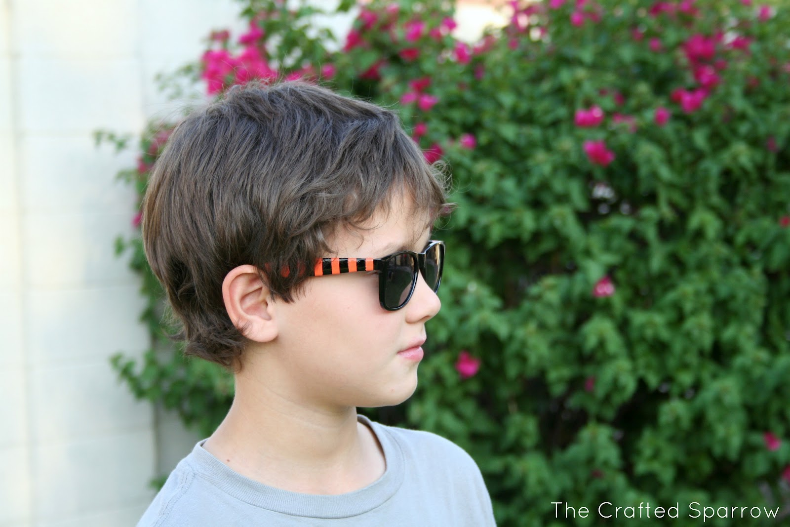 DIY Painted Sunglasses - The Crafted Sparrow