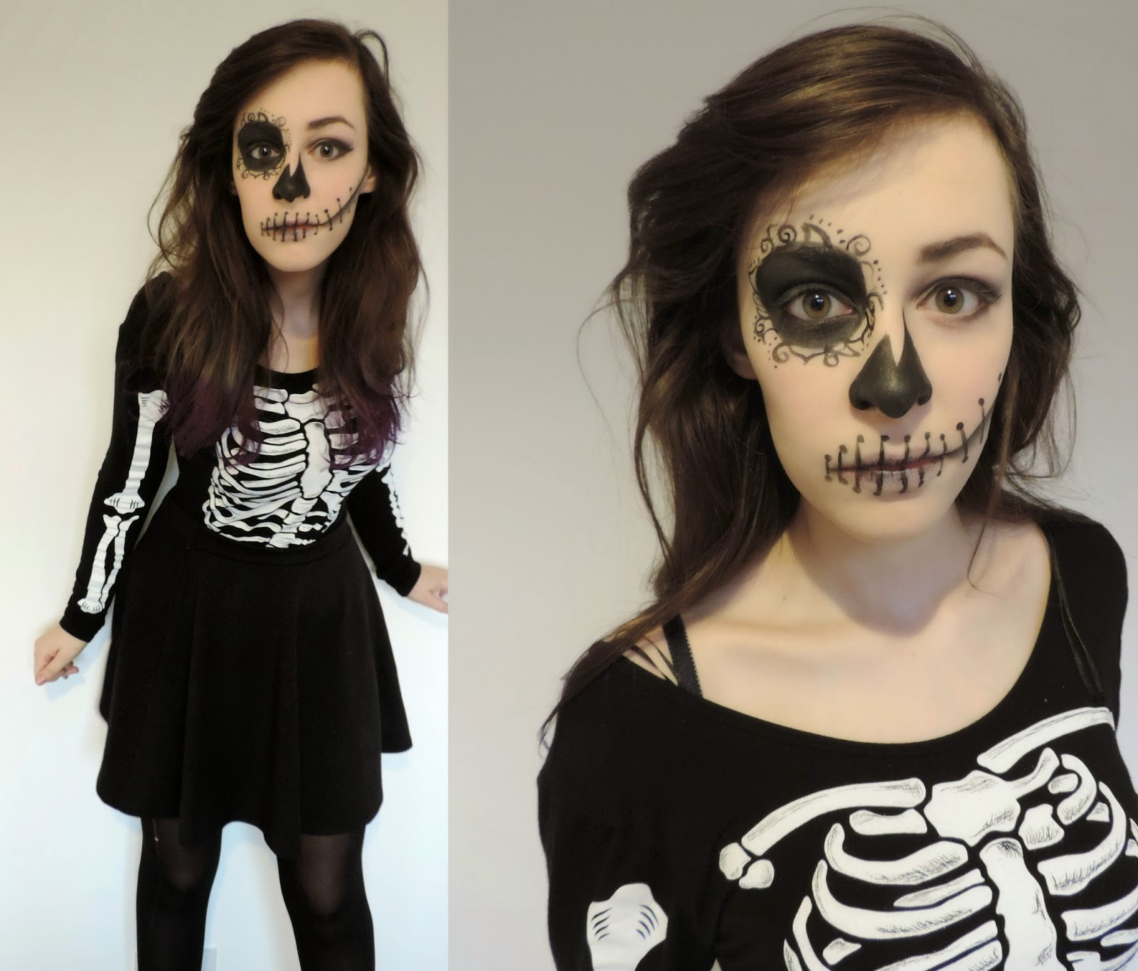 Woman's Skeleton Costume Halloween