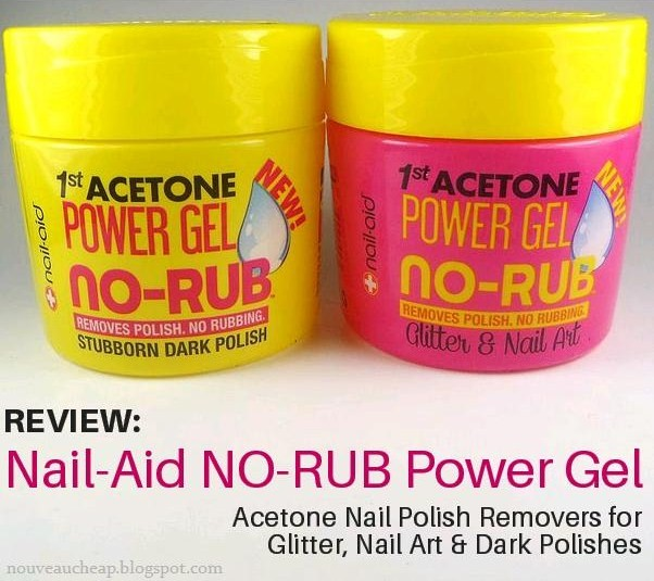 Review Nail-aid No-rub Power