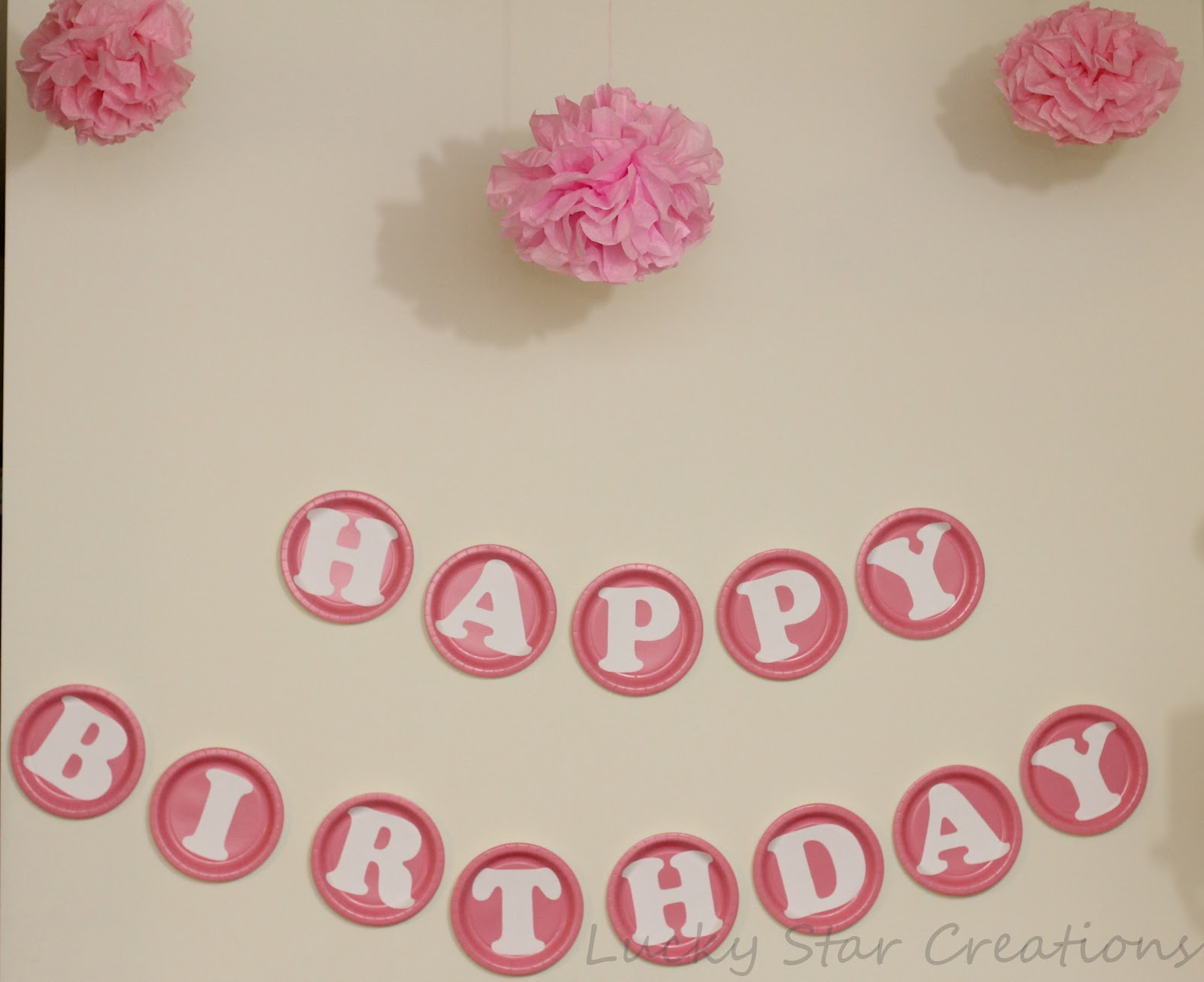 Lucky star creations the blog baby 39 s 1st birthday party for Baby birthday decoration