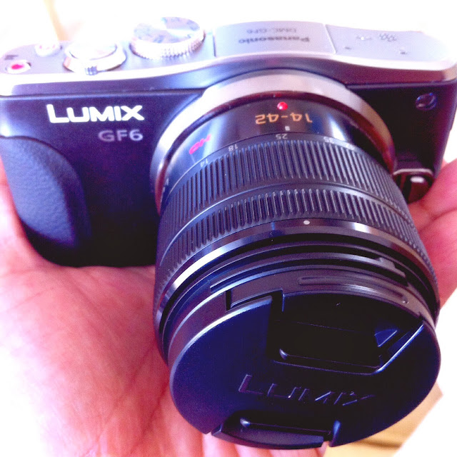 Panasonic Lumix GF6, my lovely new camera