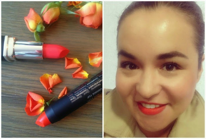 Isadora Twist Up Matte Lipstick Orange Pop Summer 2015